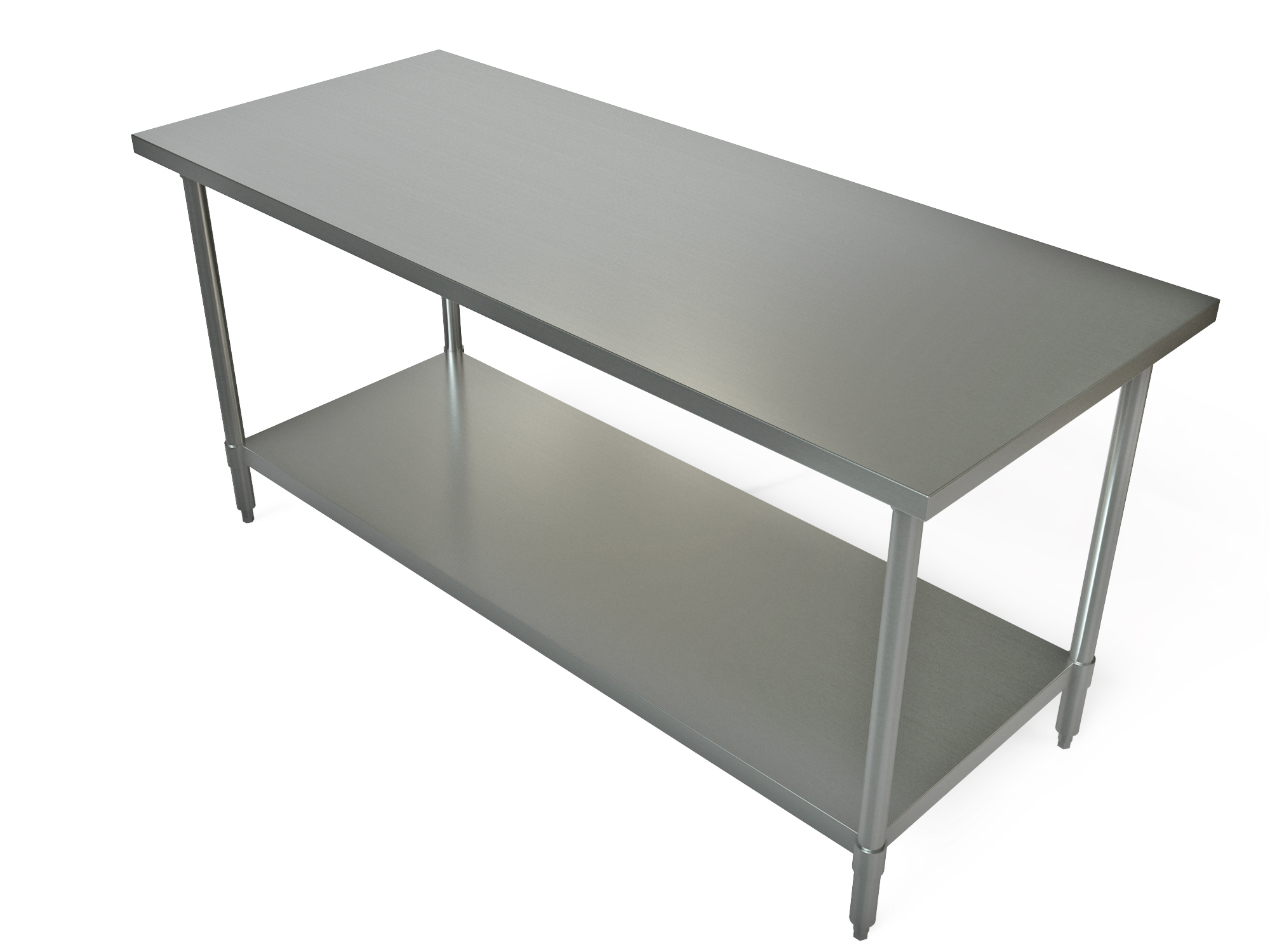 TBR Tarrison - 36 x 48 stainless steel table