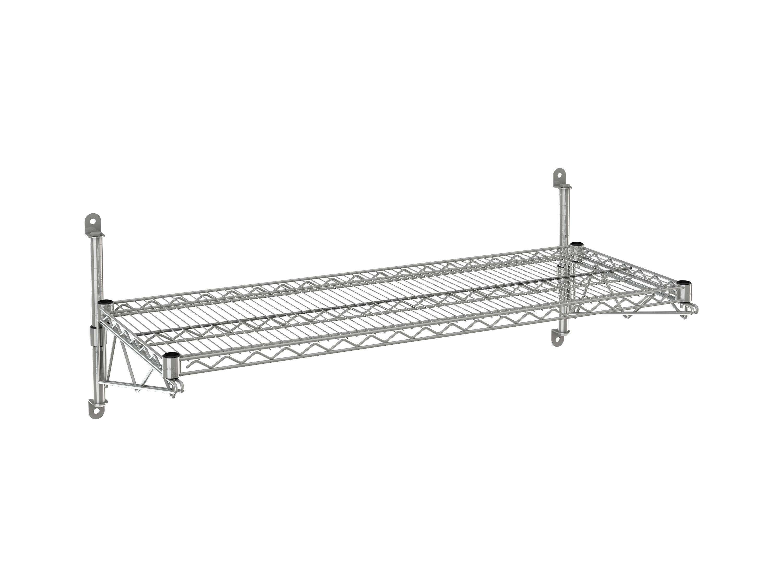 Wire Wall Shelf 1 Tier 21 X 72 X 14 Tarrison